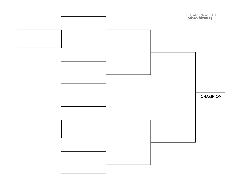 Free 30 team tournament bracket template Printable PDF ...