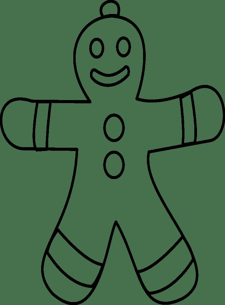 free christmas printables ginger man
