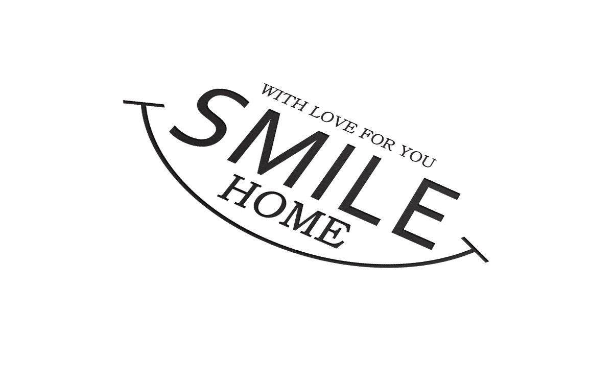 Фирменный знак дРя торговой компании SMILE HOME