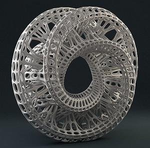 Интересная и красивая штука в 3D