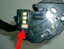 Чип на картридже MLT-D108S