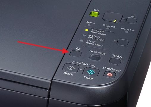 Панель управления Canon MP280