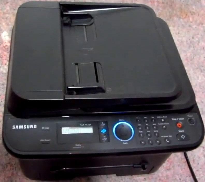Скачать драйвер для принтера samsung scx 4623f