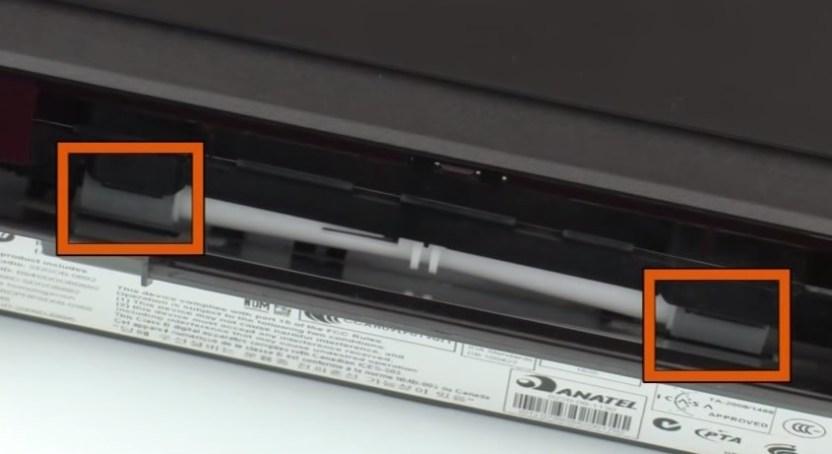 Ролики захвата струйного принтера с вертикальной загрузкой бумаги