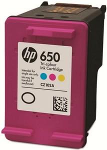 Картридж HP 650 (цветной)