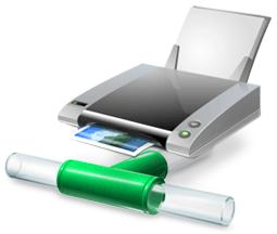 Значек общего принтера в Windows