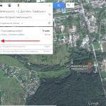 Маршрут по шагам в Гугл мапс