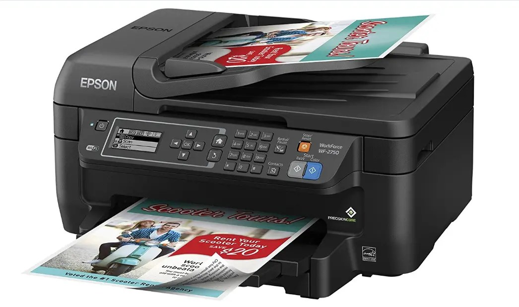 Epson WorkForce WF-2750 Driver and Software For Windows and Mac