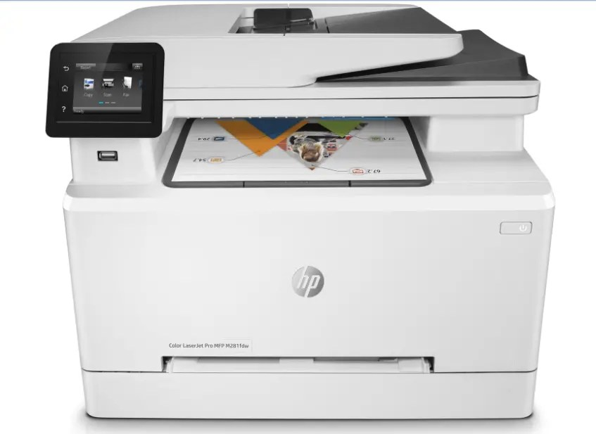 HP Color LaserJet Pro MFP M281fdw Drivers for Windows & Mac