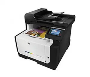 HP LaserJet Pro CM1415fnw Color Multifunction Printer Driver