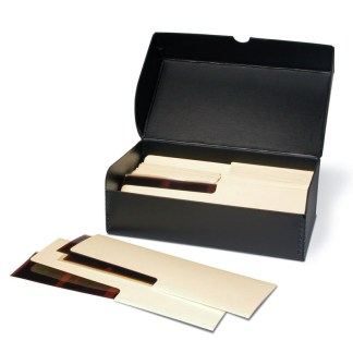 120 Negative storage kit-shown with negative file folders inside