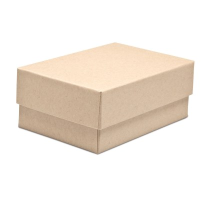 4x6x2.5 Kraft Proof Box, shown closed