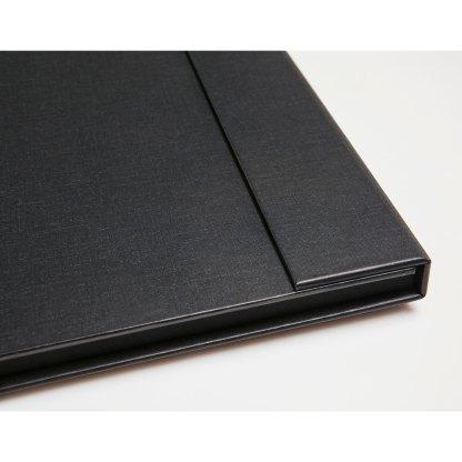 Corner detail on folio folder