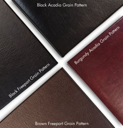 Gallery leather albums - 4 textures detail