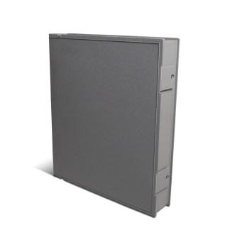 Gray Safe-T-binder closed