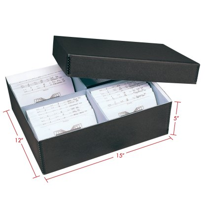 Oversize photo box with dimensions