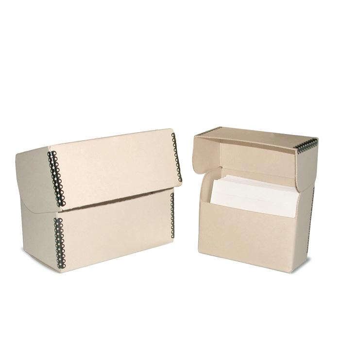 Tan Print File Magazine and Digest File Box