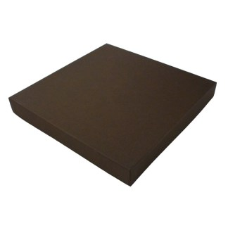 Square Proof box, brown