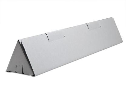Gray Triangle tube box