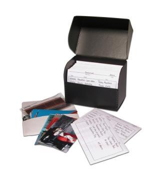 Flip Top Photo Storage Boxes