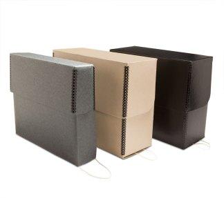 Metal Edge Document Boxes