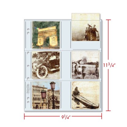 33-12P photo pages with dimensions