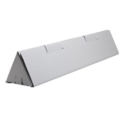 Gray Triangle tube box