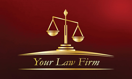 Attorney And Law Office Business Cards Lawyer And Legal