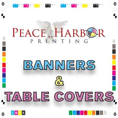 Banners & Table Covers