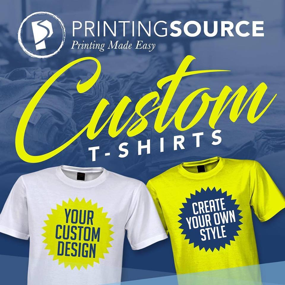 The Printing Source Digital Printing And Custom T Shirt Printing
