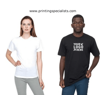 CUSTOMIZED UNISEX T-SHIRT Printing Specialists
