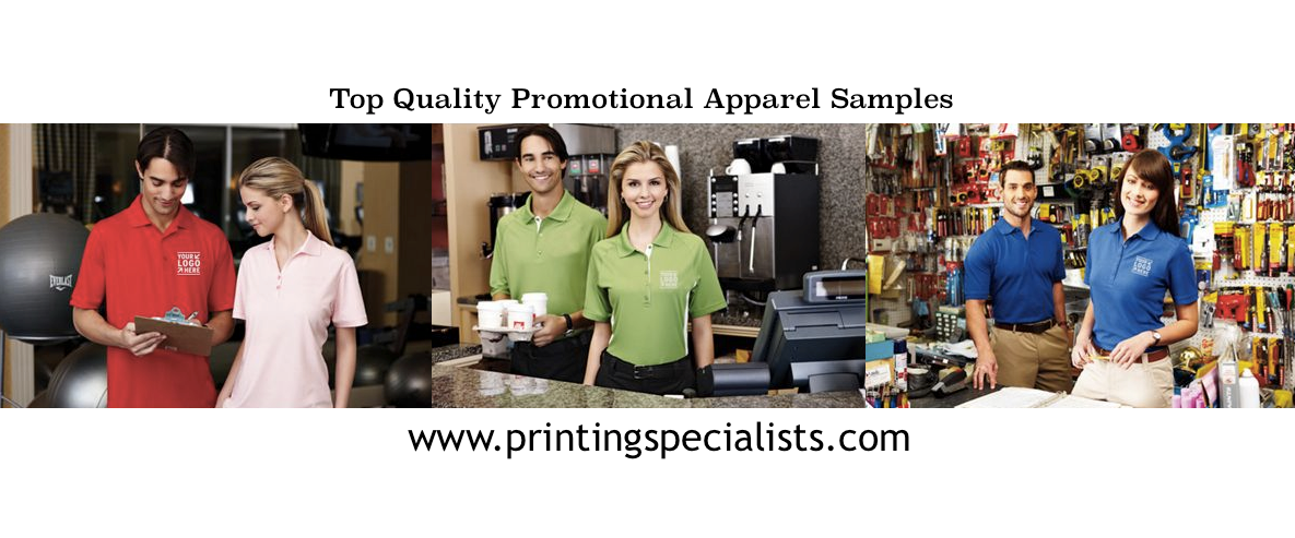 Top Quality Promotional Apparel Samples