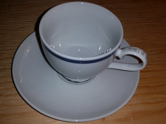 Prince of Wales Hotel Cup & Saucer