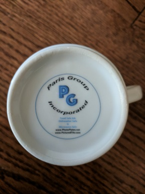 Our Logo Paris Group Inc. Printing Mug Bottoms (outside)