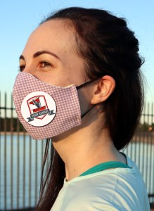 Excelsus Face Mask with school logo