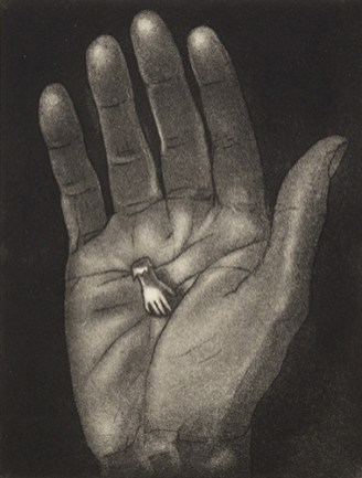 Theresa Pateman, There, there, Etching and aquatint