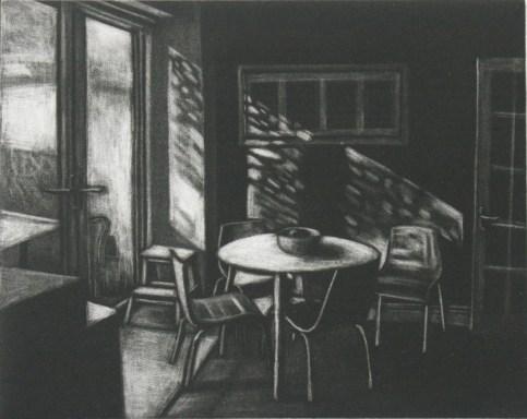 Morning sunlight in the kitchen - Peg Morris
