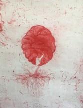 Eleanor Havsteen Franklin 'Tundra 11' etching/thread £340