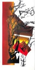 Caroline Jackman 'Irrational Time' mono/linocut £2300