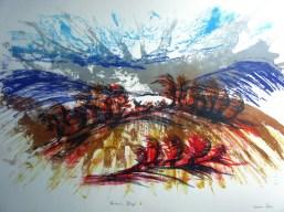Karen Potter 'Autumn Blaze' lithograph £635