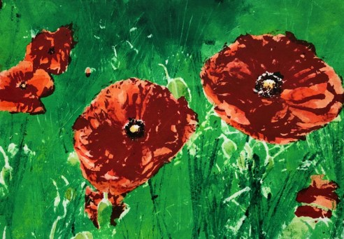Diane McLellan 'In a Green World' lithograph £110