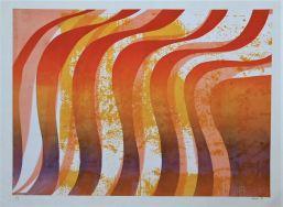 Michael Pritchard 'Waves of Brilliance' screenprint £250