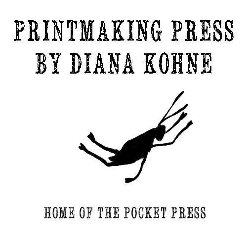 Printmaking Press home of the Pocket Press