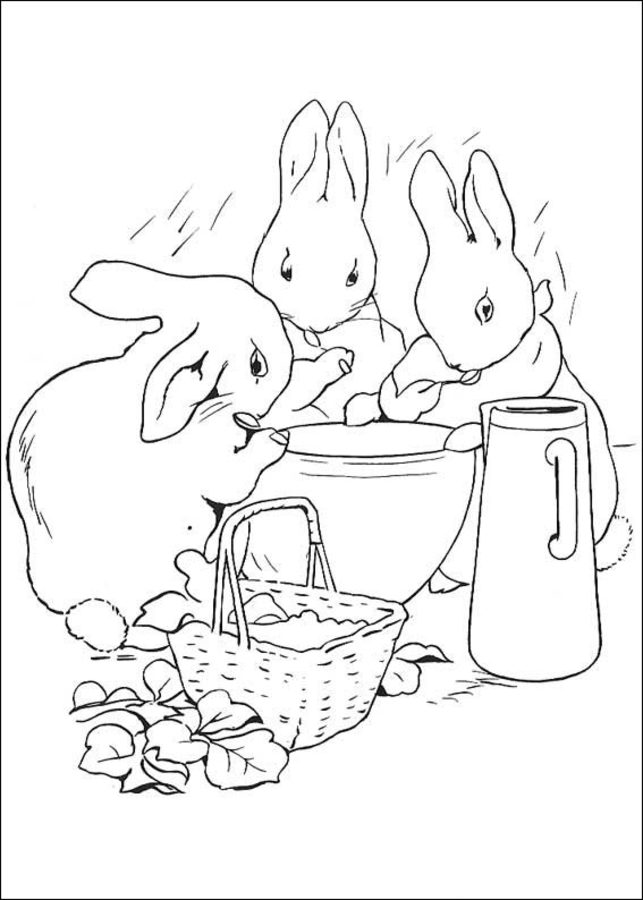 - Coloring Pages: Coloring Pages: Peter Rabbit, Printable For Kids & Adults,  Free