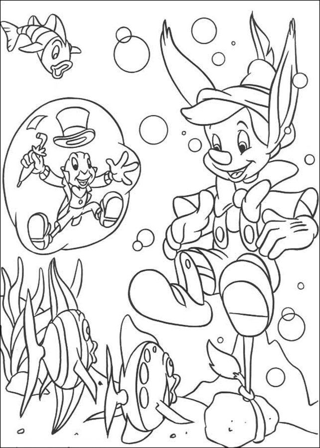 Disegni Da Colorare Disegni Da Colorare Pinocchio Stampabile Gratuito Per Bambini E Adulti