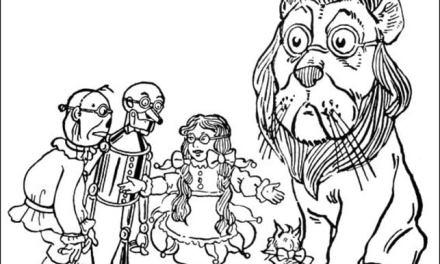Ausmalbilder: Der Zauberer von Oz