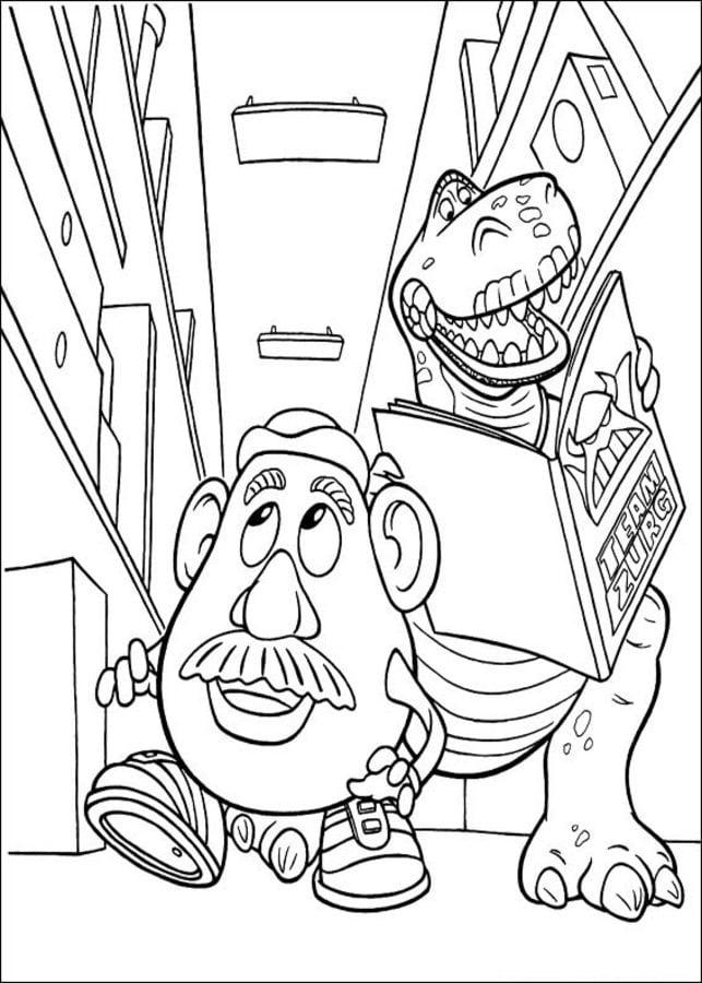 Dibujos Para Colorear Toy Story Imprimible Gratis Para