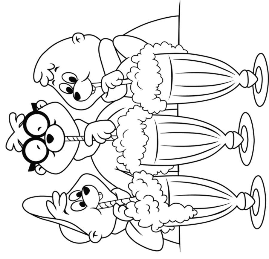 Ausmalbilder Ausmalbilder Alvin Und Die Chipmunks Zum Ausdrucken Kostenlos Fur Kinder Und Erwachsene