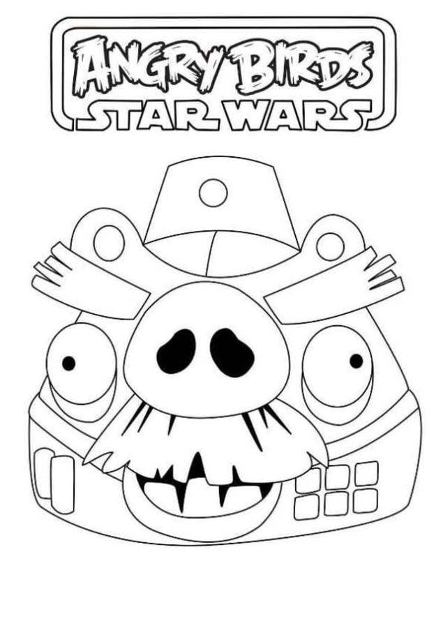 Disegni Da Colorare Disegni Da Colorare Angry Birds Star Wars Stampabile Gratuito Per Bambini E Adulti