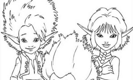Ausmalbilder: Arthur und die Minimoys